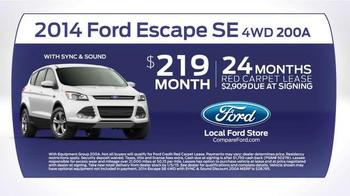 2014 Ford Escape TV Spot, 'Compare' - Thumbnail 8