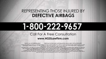 Heninger Garrison Davis LLC TV Spot, 'Defective Airbags' - Thumbnail 10