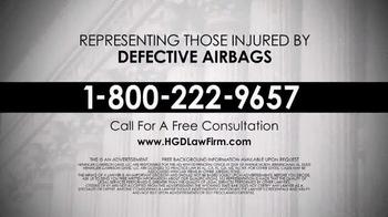 Heninger Garrison Davis LLC TV Spot, 'Defective Airbags' - Thumbnail 8