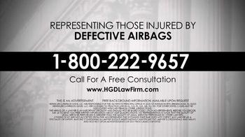 Heninger Garrison Davis LLC TV Spot, 'Defective Airbags' - Thumbnail 9