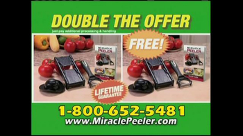 Miracle Peeler TV Spot
