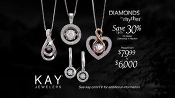 Kay Jewelers Diamonds in Rhythm TV Spot, 'Penguin Kiss: Christmas: Save 30 Percent' - Thumbnail 7