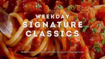 Olive Garden Weekday Signature Classics TV Spot, 'Take a Break!' - Thumbnail 8