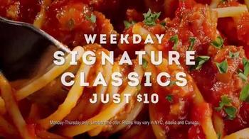 Olive Garden Weekday Signature Classics TV Spot, 'Take a Break!' - Thumbnail 9