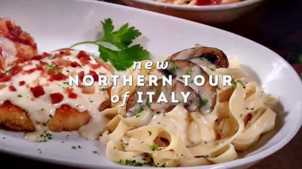 Olive Garden Culinary Tours of Italy TV Commercial, 'Discover Two New Twists'
