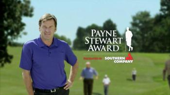 Southern Company TV Spot, 'Winner of the 2014 Payne Stewart Award'