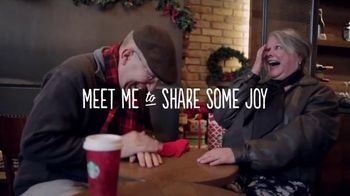 Starbucks TV Spot, 'Meet Me Holiday Share Event' Song by JD McPherson - Thumbnail 2