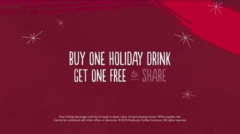 Starbucks TV Spot, 'Meet Me Holiday Share Event' Song by JD McPherson - Thumbnail 7