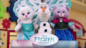 Build-A-Bear Workshop TV Spot, \'Frozen\'