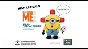Despicable Me 2 Talking Minions TV Spot, 'Bee-Do Fireman Minion' - Thumbnail 5