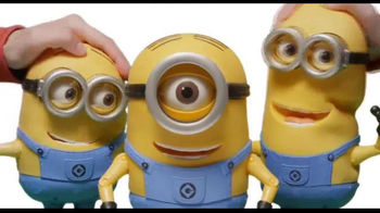 Despicable Me 2 Talking Minions TV Spot, 'Bee-Do Fireman Minion'