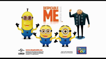 Despicable Me 2 Talking Minions TV Spot, 'Bee-Do Fireman Minion' - Thumbnail 4
