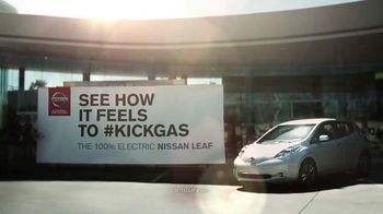Nissan Leaf TV Spot, 'Kick Gas' - 405 commercial airings