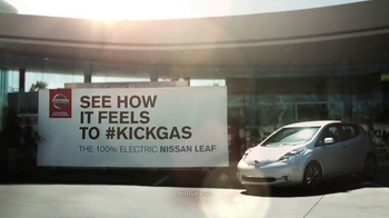Nissan Leaf TV Spot, 'Kick Gas' - Thumbnail 3
