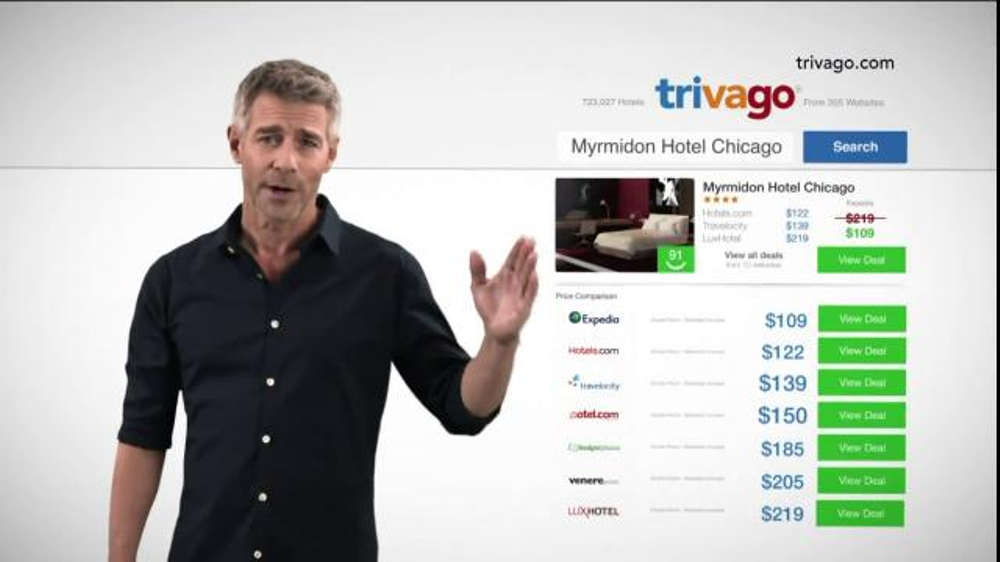 trivago TV Commercial, 'Ideal Hotel for Less'