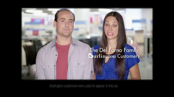 Burlington Coat Factory TV Spot, 'The Del Forno Family' - Thumbnail 1