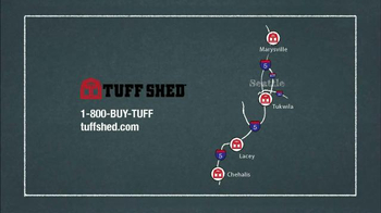 Tuff Shed Year End Clearance Sale TV Spot, 'Ready for Nasty Weather?' - Thumbnail 9
