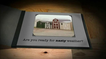 Tuff Shed Year End Clearance Sale TV Spot, 'Ready for Nasty Weather?' - Thumbnail 2
