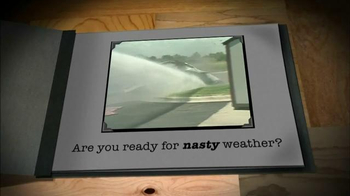Tuff Shed Year End Clearance Sale TV Spot, 'Ready for Nasty Weather?' - Thumbnail 3