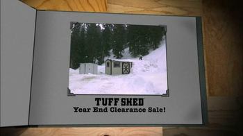 Tuff Shed Year End Clearance Sale TV Spot, 'Ready for Nasty Weather?' - Thumbnail 7