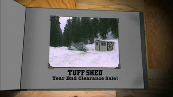 Tuff Shed Year End Clearance Sale TV Spot, 'Ready for Nasty Weather?' - Thumbnail 8