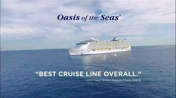 Royal Caribbean Cruise Lines TV Spot, 'Best Cruise Line Overall' - Thumbnail 5