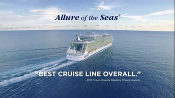 Royal Caribbean Cruise Lines TV Spot, 'Best Cruise Line Overall' - Thumbnail 6
