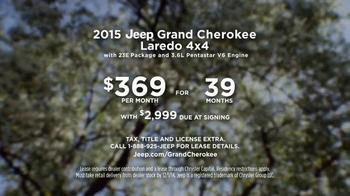 2015 Jeep Grand Cherokee Laredo TV Spot, 'Another Harsh Winter' - Thumbnail 10