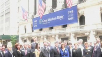New York Stock Exchange TV Spot, 'Great Western Bank' - Thumbnail 1