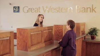 New York Stock Exchange TV Spot, \'Great Western Bank\'