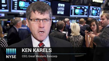 New York Stock Exchange TV Spot, 'Great Western Bank' - Thumbnail 4