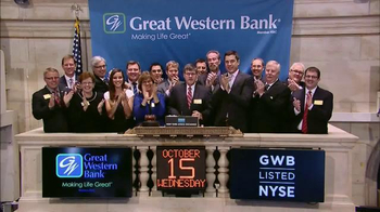 New York Stock Exchange TV Spot, 'Great Western Bank' - Thumbnail 6