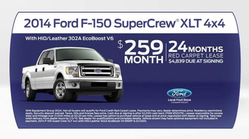2014 Ford F-150 TV Spot, 'Compare' - Thumbnail 8
