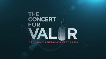 HBO TV Spot, 'The Concert for Valor' - 53 commercial airings