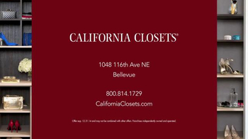 California Closets Holiday Accents Saving Event TV Spot - Thumbnail 10