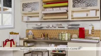 California Closets Holiday Accents Saving Event TV Spot - Thumbnail 4