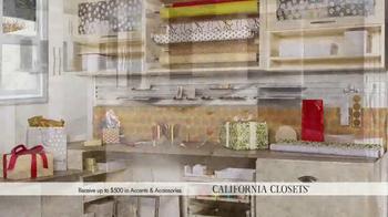 California Closets Holiday Accents Saving Event TV Spot - Thumbnail 5