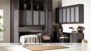 California Closets Holiday Accents Saving Event TV Spot - Thumbnail 8