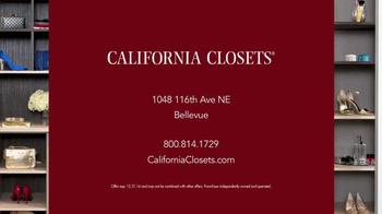 California Closets Holiday Accents Saving Event TV Spot - Thumbnail 9