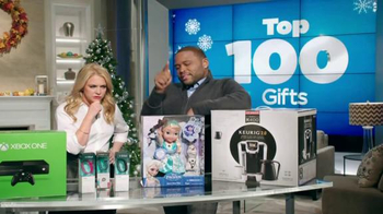Walmart TV Spot, 'Gift List' Feat. Anthony Anderson and Melissa Joan Hart - Thumbnail 6