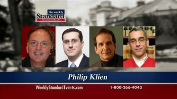 Weekly Standard 20th Anniversary Summit TV Spot, 'Register Today!' - 34 commercial airings