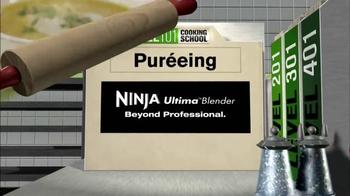 Ninja Ultima Blender TV Spot, 'Cooking 101' - Thumbnail 1