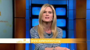 Safe Horizon TV Spot, 'Save a Life' Featuring Stephanie March - Thumbnail 10