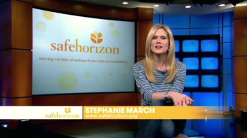 Safe Horizon TV Spot, 'Save a Life' Featuring Stephanie March - Thumbnail 2