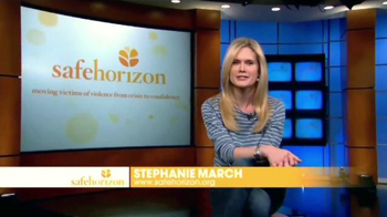 Safe Horizon TV Spot, 'Save a Life' Featuring Stephanie March - Thumbnail 3