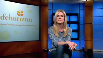 Safe Horizon TV Spot, 'Save a Life' Featuring Stephanie March - Thumbnail 5