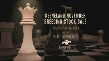Keeneland November Breeding Stock TV Spot, 'Chess' - Thumbnail 10