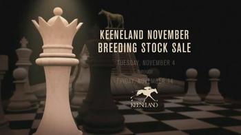 Keeneland November Breeding Stock TV Spot, 'Chess' - Thumbnail 9