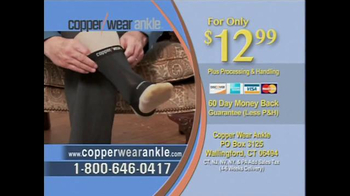 CopperWear Ankle TV Spot, 'Relief' - Thumbnail 10