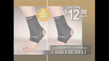 CopperWear Ankle TV Spot, 'Relief' - Thumbnail 9